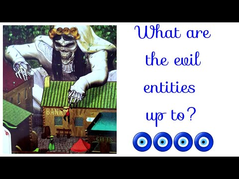 What are the dark forces/evil/entities up to? pick a card!