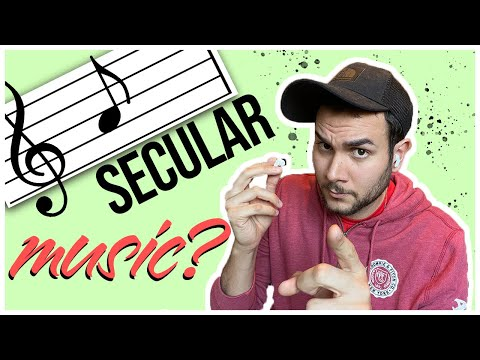 Can christians listen to secular music?