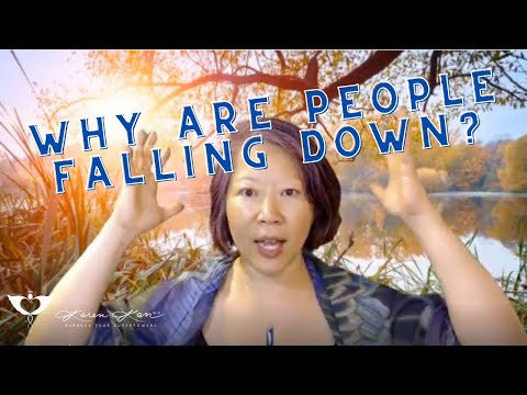 Spiritual medicine digest: why are people falling down?
