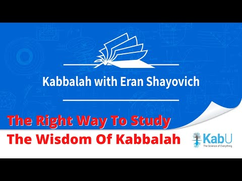 Concepts in kabbalah | the right way to study the wisdom of kabbalah