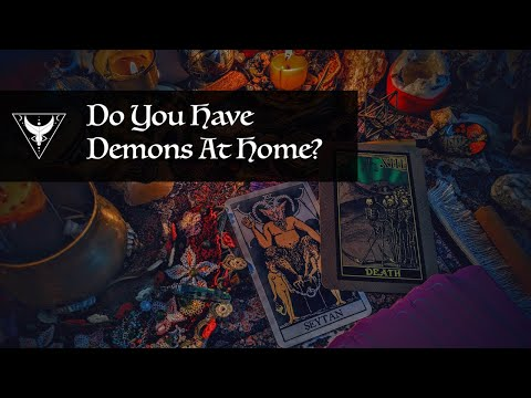 Do you have demons at home? pick a card tarot reading 🌹