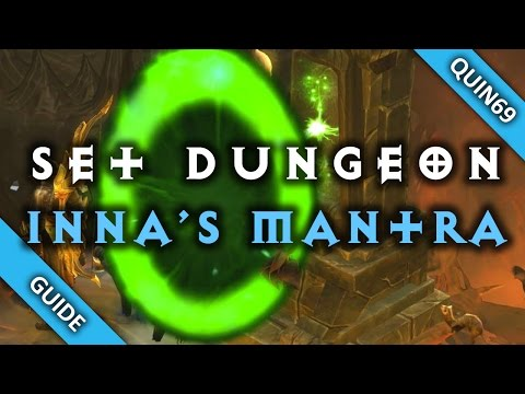 Diablo 3: set dungeon - inna's mantra (mastery   how to   patch 2.4)