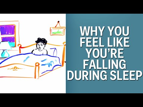 Why you feel like you're falling in your sleep