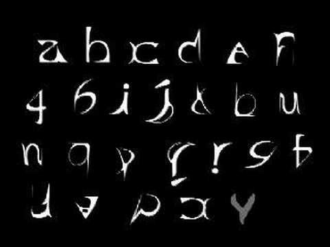 """Chonglai on : """"typography...in a way that science can't capture"""""""