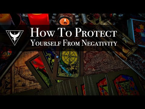 How to protect yourself from negativity, evil eye, hexing. tarot reading