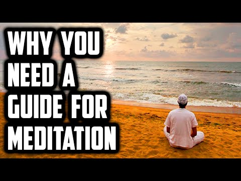 Guided meditation is necessary otherwise satanic attack 17 mins sufi meditation center