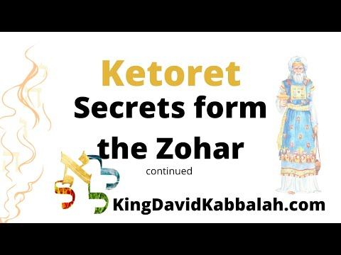 What is the difference between the sacrifices and the incense offering zohar rabbi shimon bar yochia