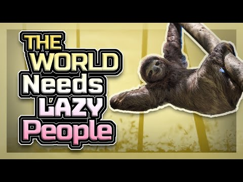 The world needs lazy people   kabbalist's view with dr. michael laitman