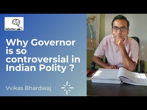 Why governor is controversial in indian polity ? #governor #indianpolity #upsc