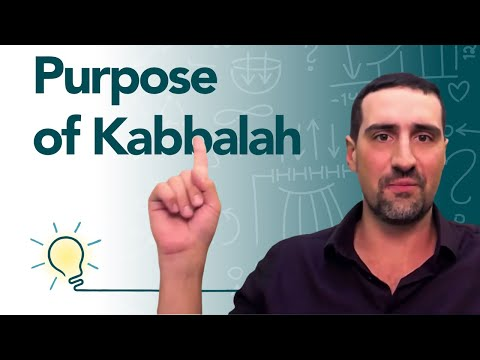 What is the purpose of kabbalah? - 5 levels of evolution