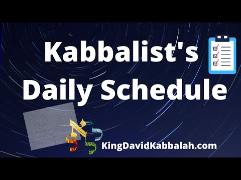 What do kabbalists do after shachris, kabbalah schedule of the day