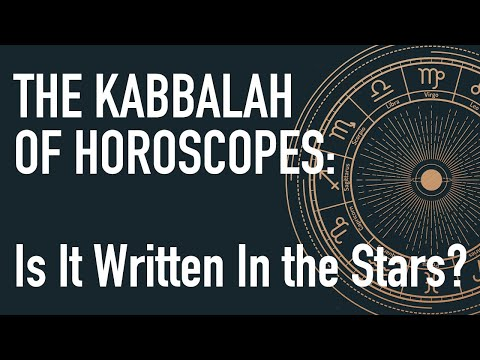 The kabbalah of horoscopes: is it written in the stars?
