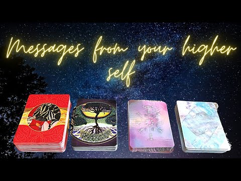 ✨pick a card✨ messages from your higher self