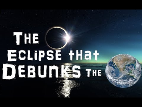 The august 21st, 2017 total eclipse and the flat earth - part i