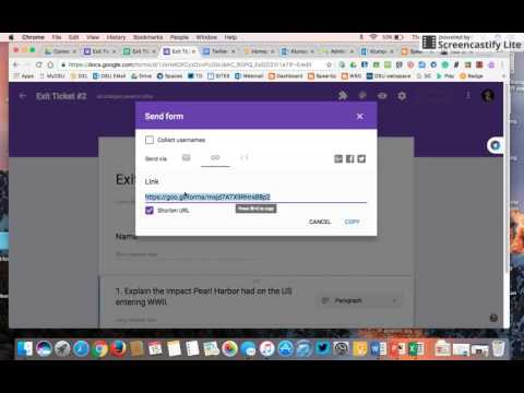 How to merge multiple google forms into one