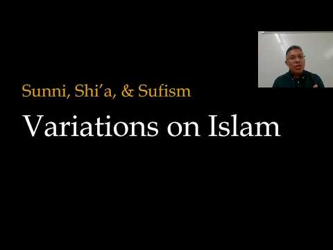 Sunni, shi'a, and sufism: variations on islam