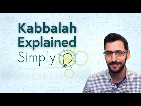 What is kabbalah (aka ancient jewish mysticism)? - explained simply