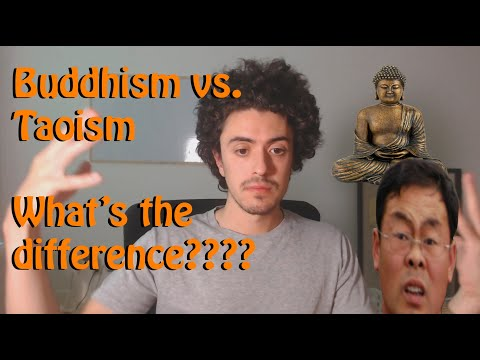 What's the difference between buddhism and taoism?