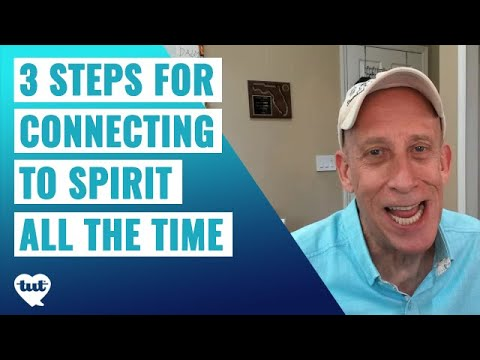 ☁️ 3 steps for connecting to spirit all the time ⚡