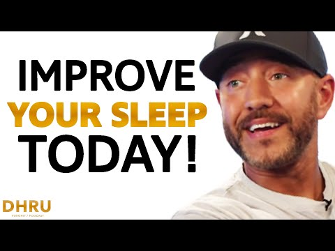 4 essential tips to improve your sleep today! | shawn stevenson & dhru purohit