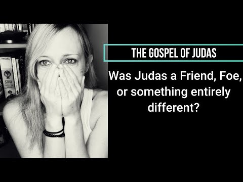 The gospel of judas~ was he a friend, foe, or is this gospel something entirely different! #judas