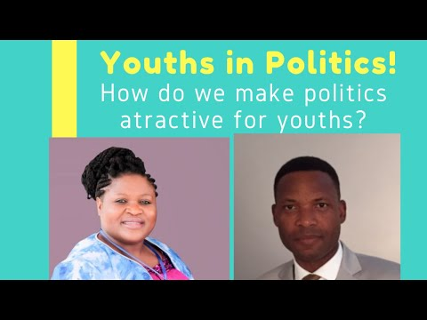 How to make politics attractive for young people with president eli abeke and host vera sompon
