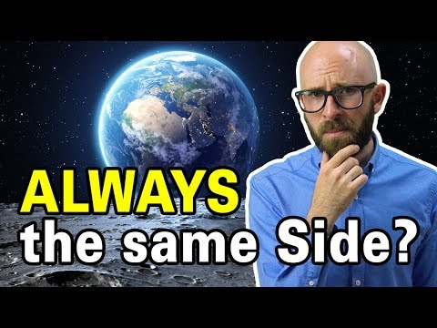 Why does the same side of the moon always face the earth?